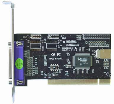 Netmos parallel port pci card